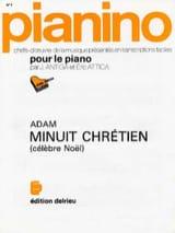 Minuit Chrétiens. Adolphe Adam Partition Piano - laflutedepan.com