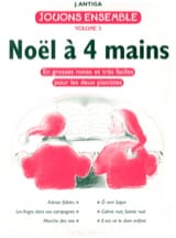 A 4 Mains Noëls - Antiga - Partition - Piano - laflutedepan.com