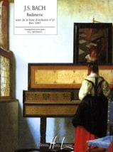 Badinerie (Suite N°2) BACH Partition Piano - laflutedepan.com