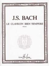 Le Clavecin Bien Tempéré, Volume 1 BACH Partition laflutedepan.com