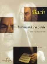 Inventions 2 et 3 Voix BACH Partition Piano - laflutedepan.com