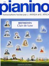 Clair de Lune. Pianino 40 Ludwig van Beethoven laflutedepan.com