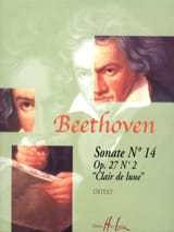 Sonate N° 8 Pathétique Opus 13 BEETHOVEN Partition laflutedepan.com