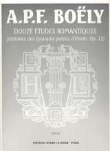 12 Etudes Romantiques Opus 13 laflutedepan.com