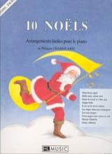 10 Noëls : Arrangements Faciles Piano laflutedepan.com