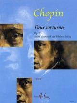 2 Nocturnes Opus 55. - Frédéric Chopin - Partition - laflutedepan.com