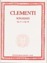 6 Sonatines Opus 37 et 38 Muzio Clementi Partition laflutedepan.com