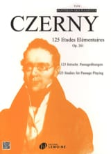 CZERNY - 125 Elementary Studies Opus 261 - Sheet Music - di-arezzo.co.uk