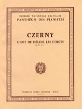 L'art de Délier les Doigts Opus 699. Volume 2 CZERNY laflutedepan.com