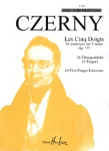 CZERNY - The 5 fingers - Opus 777 - Sheet Music - di-arezzo.co.uk