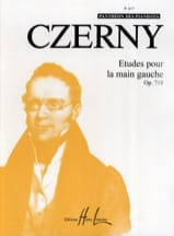 Etudes Main Gauche Opus 718 - CZERNY - Partition - laflutedepan.com