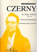 CZERNY - The Small Velocity Opus 636 - Sheet Music - di-arezzo.co.uk