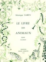 Livre des Animaux Volume 2 Monique Gabus Partition laflutedepan.com