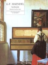 HAENDEL - Sarabande From The XIth Suite - Sheet Music - di-arezzo.com