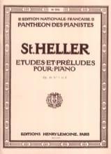 Stephen Heller - 30 Etudes et Préludes Progressives Opus 46 - Partition - di-arezzo.fr
