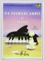 HERVÉ - POUILLARD - My first year of Piano - Sheet Music - di-arezzo.co.uk