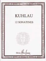 Friedrich Kuhlau - 12 Sonatines Opus 20, 55, 59 - Partition - di-arezzo.fr