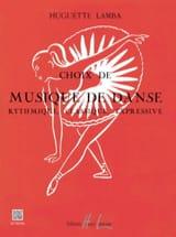 Choix de Musique de Danse Huguette Lamba Partition laflutedepan.com