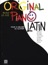 Original Piano Latin Michel LE COZ Partition Piano - laflutedepan
