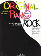 Original Piano Rock Michel LE COZ Partition Piano - laflutedepan