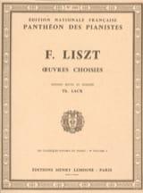Classiques Favoris Volume 9a Franz Liszt Partition laflutedepan.com
