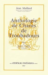 - Anthology of troubadour songs - Sheet Music - di-arezzo.com