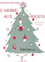 L' Arbre Aux Jouets Gérard Meunier Partition Piano - laflutedepan