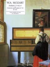 Andante Du Concerto N° 21 KV 467 MOZART Partition laflutedepan.com