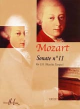 Sonate n° 11 KV 331. MOZART Partition Piano - laflutedepan.com