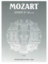 Sonate N°16 KV 545 - MOZART - Partition - Piano - laflutedepan.com