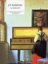 Tambourin Jean-Philippe Rameau Partition Piano - laflutedepan.com