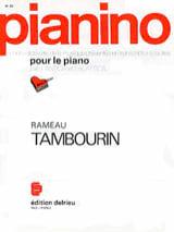 Tambourin. Pianino 35 - Jean-Philippe Rameau - laflutedepan.com