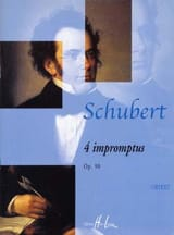 4 Impromptus Opus 90 SCHUBERT Partition Piano - laflutedepan.com