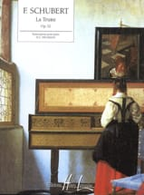 La Truite Opus 32 SCHUBERT Partition Piano - laflutedepan.com