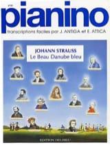Le Beau Danube Bleu. Pianino 21 Johann fils Strauss laflutedepan.com