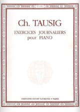 Exercices Journaliers - Tausig - Partition - Piano - laflutedepan.com