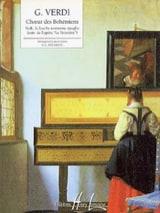Choeur des Bohémiens. le Trouvère Giuseppe Verdi laflutedepan.com