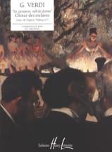Choeur des Esclaves. Nabucco Giuseppe Verdi Partition laflutedepan.com