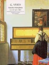 Marche Triomphale D' Aïda VERDI Partition Piano - laflutedepan.com
