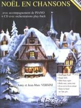 Noël en Chansons Anny et Jean-Marc Versini Partition laflutedepan.com