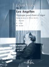 Les Angélus Opus 57 - Louis Vierne - Partition - laflutedepan.com