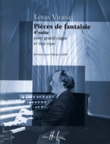 Louis Vierne - Fantasy Parts Opus 55 - Sheet Music - di-arezzo.com