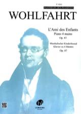 Ami des Enfants Opus 87. 4 Mains Heinrich Wohlfahrt laflutedepan.com