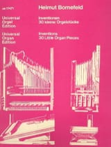 Helmut Bornefeld - Inventionen (1980) - Partition - di-arezzo.fr