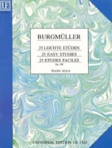 Frédéric Burgmuller - 25 Leichte Etüden. Opus 100 - Sheet Music - di-arezzo.co.uk