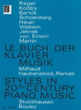 UE-Buch der Klaviermusik des 20. Jahrhunderts laflutedepan.com