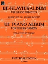 Ue-Klavieralbum Für Junge Pianisten Partition laflutedepan.com