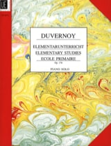 Jean-Baptiste Duvernoy - Elementary Studies Opus 176 - Partition - di-arezzo.fr