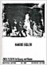 Hanns Eisler - 2 Elegien Für Gesang Und Klavier 1937 - Partition - di-arezzo.fr
