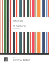 17 Nocturnes John Field Partition Piano - laflutedepan